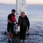 End of the sailing session