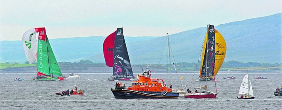The 19Arches follows the Volvo Ocean Race
