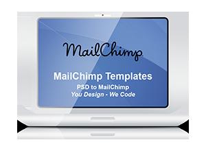 PSD to MailChimp Template Coding Service