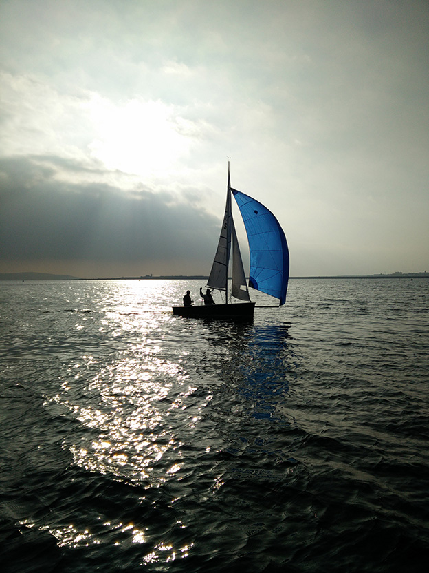 Saturday Spinnaker Sailing with Sport 14
