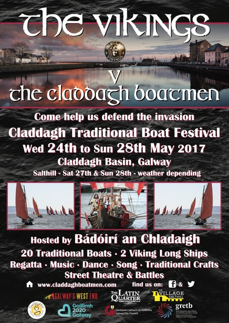 he Vikings are coming to the Claddagh Traditional Boat Festival